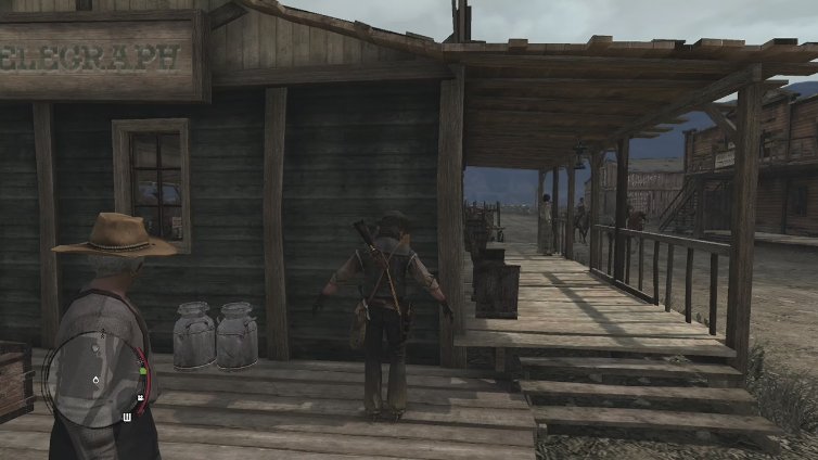 JamesWhiteWolf playing Red Dead Redemption